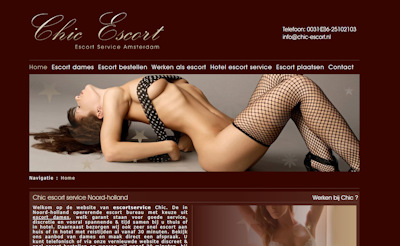 Chic Escort Service Amsterdam The Netherlands